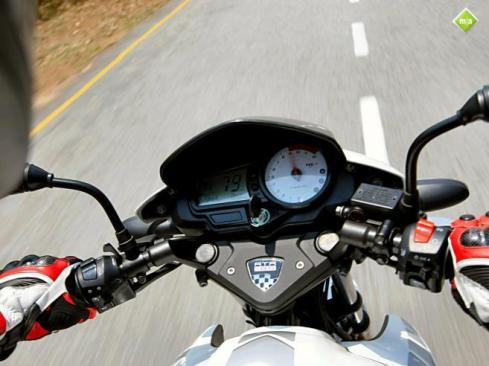 Rasakan sensasi saat riding dengan Menace