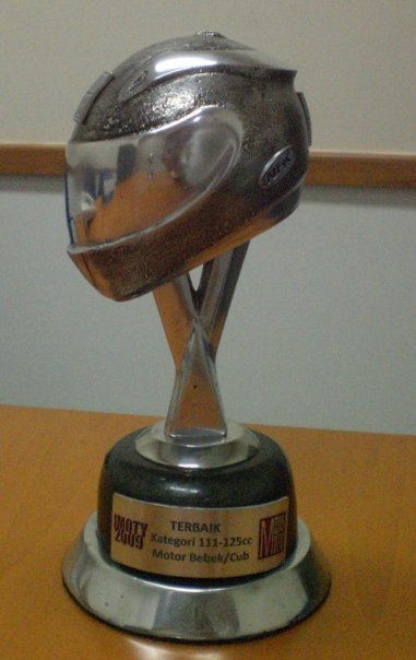 Award for TVS RockZ